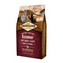CarniLove Reindeer - корм Карнилав с мясом северного оленя для кошек