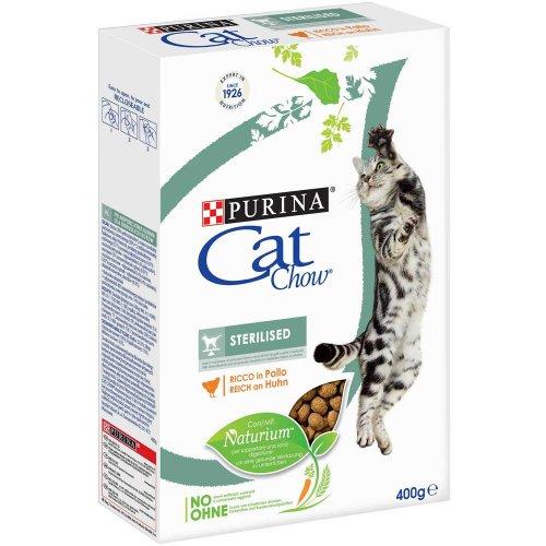 Cat Chow Sterilized - корм Кэт Чау для стерилизованных кошек