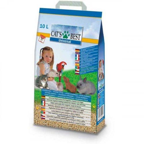 Cats Best Universal - гигиенический наполнитель Кетс Бест для кошек, птиц и мелких животных
