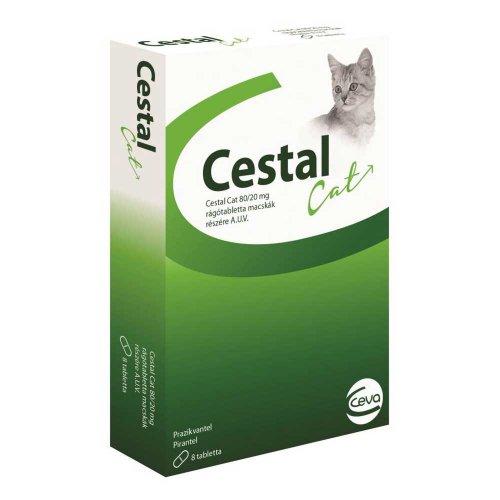 Ceva Cestal Cat - противоглистный препарат Сева Цестал для кошек