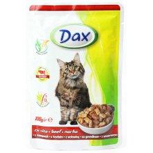 Dax - консервы Дакс с говядиной для кошек