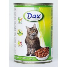 Dax - полноценный корм с кроликом Дакс для кошек