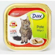 Dax - паштет Дакс с говядиной для кошек