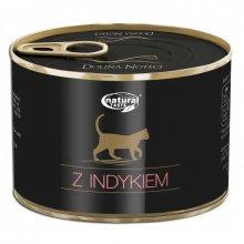 Dolina Noteci Natural Taste Cat - консервы Долина Нотечи с индейкой для кошек