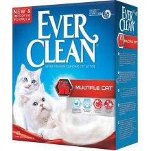Ever Clean Multiple Cat - комкующийся наполнитель Эвер Клин Мультикет