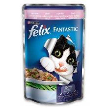 Felix Fantastic - консервы Феликс с форелью и бобами в желе