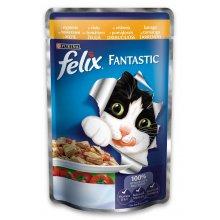 Felix Fantastic - консервы Феликс с курицей и томатами в желе