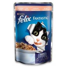 Felix Fantastic - консервы Феликс с лососем в желе