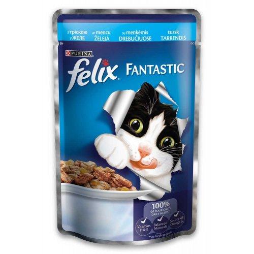 Felix Fantastic - консервы Феликс с треской в желе