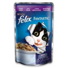 Felix Fantastic - консервы Феликс с ягненком в желе