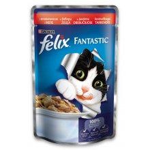 Felix Fantastic - консервы Феликс с говядиной в желе