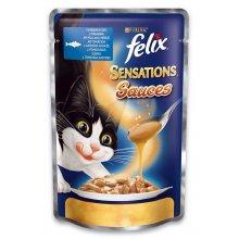 Felix Sensation - консервы Феликс с сайдой и томатами в соусе