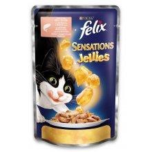 Felix Sensation - консервы Феликс с лососем и треской в желе