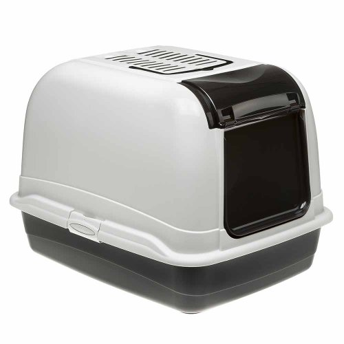 Ferplast Maxi Bella Cabrio - закрытый туалет Ферпласт с фильтром