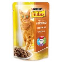 Friskies - корм Фрискас с индейкой в подливке для кошек