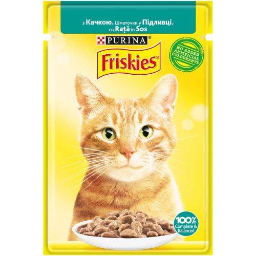 Friskies - корм Фрискас с уткой в подливке для кошек