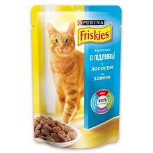 Friskies - корм Фрискас с лососем в подливке для кошек