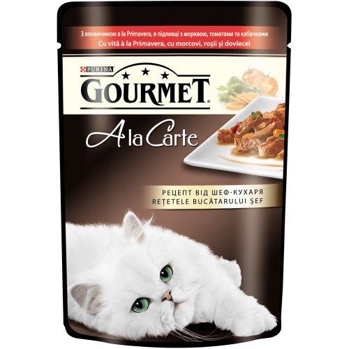Gourmet Ala Carte - корм Гурмет с говядиной в подливке