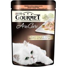 Gourmet Ala Carte - корм Гурмет лосось в подливке