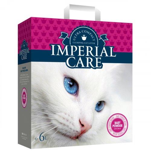 Imperial Care Baby Powder - наполнитель Империал Кеа ультра-комкующийся