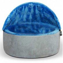 K and H Kitty Hooded Blue - домик Китти синего цвета для кошек