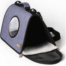 K and H Light Blue Lookout - сумка синего цвета для кошек и собак