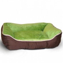 K and H Self Lounge Coffee Green - лежак Селф Лаунж кофейно-зеленого цвета