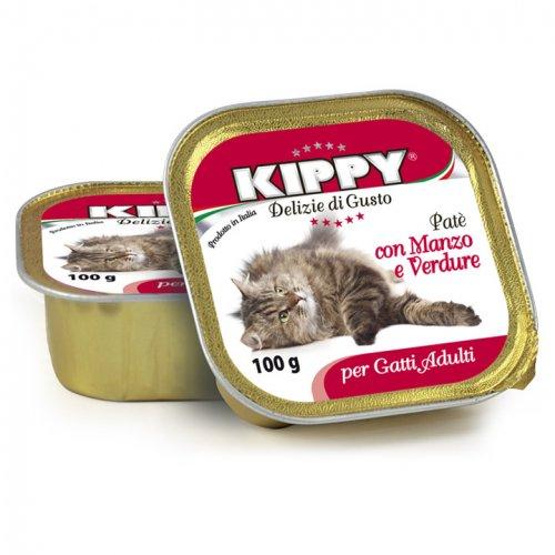 Kippy - паштет Киппи из говядины и овощей для кошек