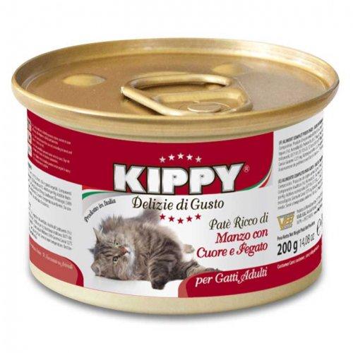 Kippy - паштет Киппи из говядины, сердца и печени для кошек