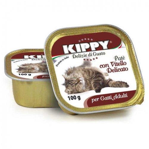 Kippy - паштет Киппи из телятины для кошек