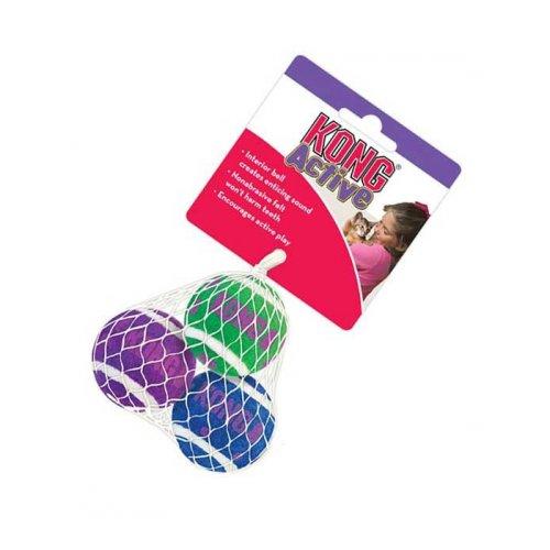 Kong Tennis Balls - мячики теннисные Конг для кошек