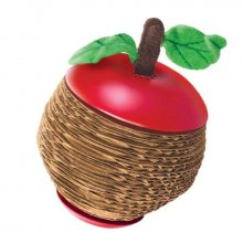 Kong Scratch Apple - игрушка Конг Яблоко с кошачьей мятой