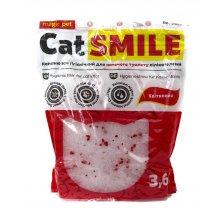 Cat Smile - силикагелевый наполнитель Кет Смайл с цветочным ароматом