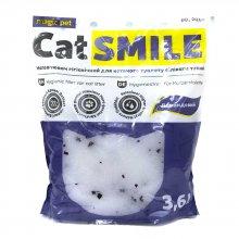 Cat Smile - силикагелевый наполнитель Кет Смайл с ароматом лаванды
