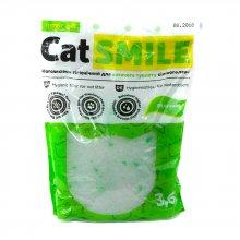 Cat Smile - силикагелевый наполнитель Кет Смайл с ароматом яблока