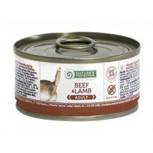 Natures Protection Adult Beef & Lamb - консервы Нейчерс Протекшн, с говядиной и ягненком