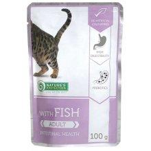 Natures Protection Intestinal Health Fish - консервы Нейчерс Протекшн для кошек