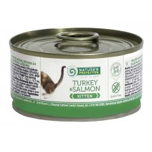 Natures Protection Kitten Turkey & Salmon - консервы Нейчерс Протекшн, с индейка и лосось для котят