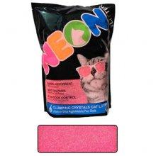 Neon Litter Clump - комкующийся кварцевый наполнитель Неон, розовый