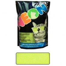 Neon Litter Clump - комкующийся кварцевый наполнитель Неон, зеленый