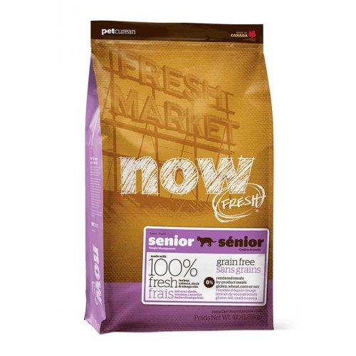 Now Fresh Senior Cat - беззерновой корм Нау Фреш для пожилых или склонных к полноте кошек