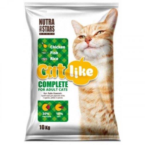 Cat Like Complete - корм Кет Лайк для взрослых кошек всех пород