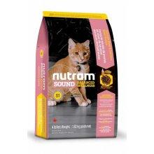 Nutram S1 Sound Balanced Wellness Kitten - корм Нутрам для котят