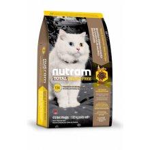 Nutram T24 Total Grain-Free - корм Нутрам с лососем и форелью для кошек
