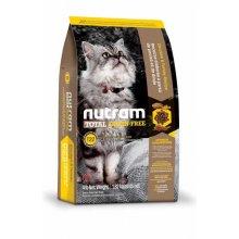 Nutram T22 Total Grain-Free - корм Нутрам с курицей и индейкой для кошек