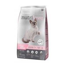 Nutrilove Sterilised - корм Нутрилав для кастрированных и стерилизованных кошек