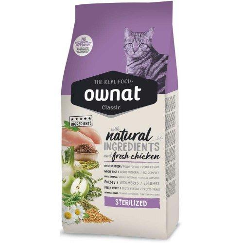 Ownat Classic Sterilized - корм Овнат для взрослых стерилизованных кошек