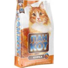 Пан Кот - корм с курицей для домашних кошек