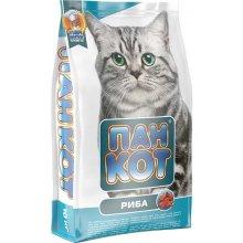 Пан Кот - корм с рыбой для здоровой кожи и шерсти для кошек