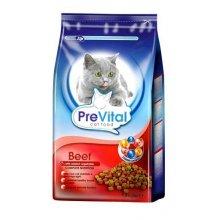 PreVital - корм ПреВитал с говядиной и овощами для кошек